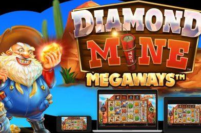 เกมสล็อตชื่อดัง Diamond Mine เล่นง่าย แจกโบนัสบ่อย